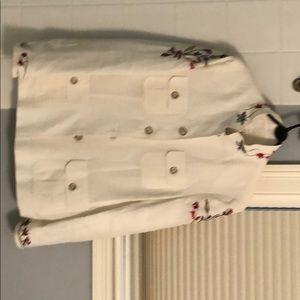 Escada retro embroidered blazer/jacket